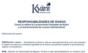 Responsabilidades de Rango